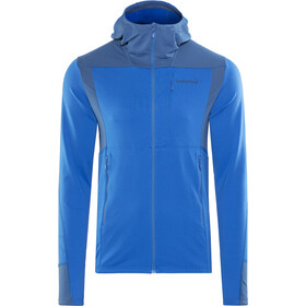 Norrøna Falketind Warm1 Stretch Felpa con zip Uomo, hot sapphire